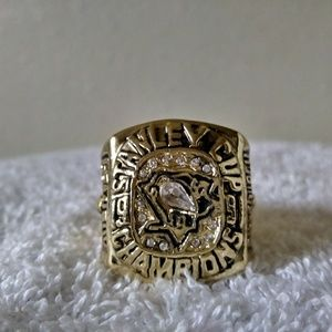 Pittsburgh Penguins 1991 Championship Ring